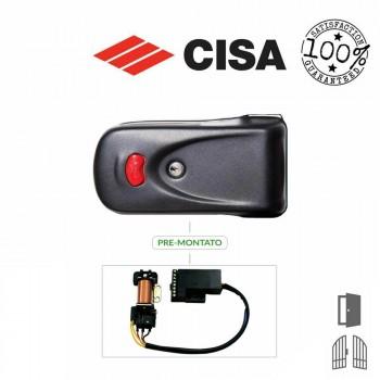 Kit elettroserratura Cisa Elettrika con pulsante art. 1A630 con Modulo Booster