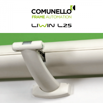 LIWIN L25 Comunello   Attuatore elettrico a catena per finestre vasistas e a sporgere