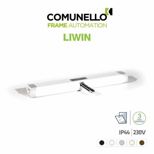 LIWIN L25 230V Comunello attuatore a catena per finestre vasistas e lucernari