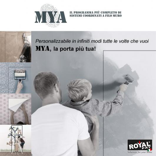 Porta filo muro Mya Royal Pat