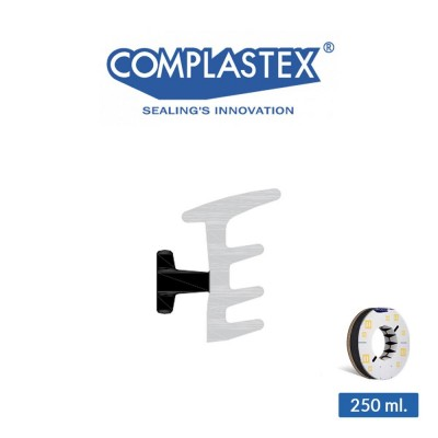 Guarnizione per vetro esterna Complastex per Gold art. 03075