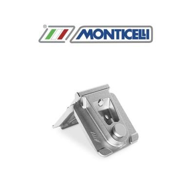 Squadretta in alluminio pressofuso Monticelli Montebianco art. 0409F