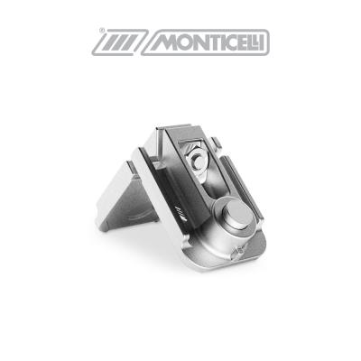0409F MONTEBIANCO Monticelli squadretta di giunzione angolare in alluminio pressofuso