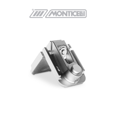 0432 MONTEBIANCO Monticelli squadretta di giunzione angolare in alluminio pressofuso
