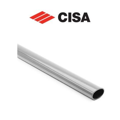 Barra ovale orizzontale per maniglioni antipanico Cisa 1200 mm Acciaio inox art. 0700761