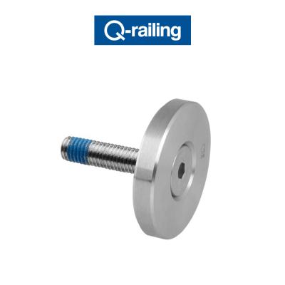 MOD 0741 Q-Railing disco di bloccaggio Easy Glass
