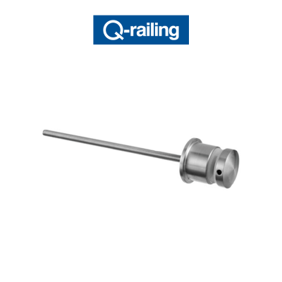 MOD 0744 Q-Railing adattatore per vetro Easy Glass
