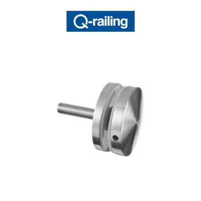 MOD 0748 Q-Railing adattatore per vetro Easy Glass