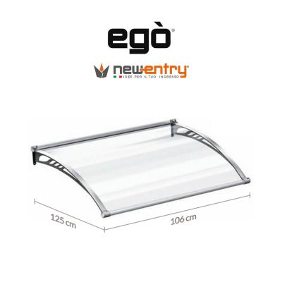 Pensilina Egò modulo base lunghezza 106 cm sporgenza 125 cm art. ES12501061F