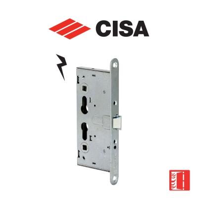 Serratura elettrica a cilindro per porte tagliafuoco Cisa Mito entrata 65 art. 1310065