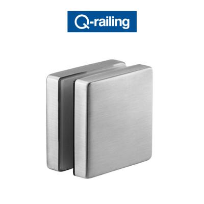 MOD 4747 Q-Railing adattatore per vetro Easy Glass