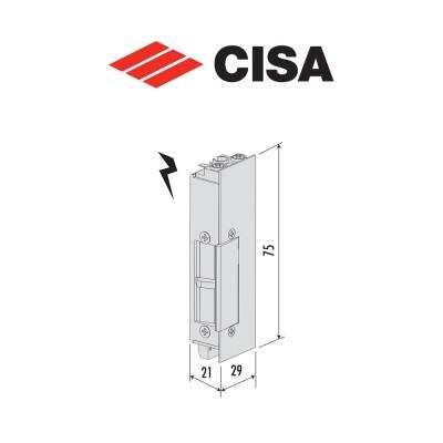Incontro elettrico con microinterruttore per serrature Cisa art. 15200