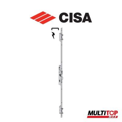 Serratura elettrica multipunto Cisa Multitop Max entrata 35 frontale a U art. 1965635