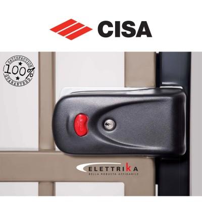 Elettroserratura Cisa Elettrika con pulsante art. 1A630