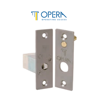 Opera 2091XSA elettropistone a dimensione ridotta con scrocco serie Quadra Micro