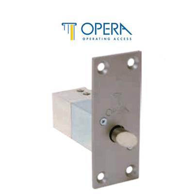 Opera 2191 elettropistone da infilare con scrocco serie Quadra