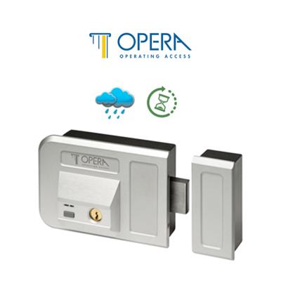 Serratura elettrica chiusura a riarmo automatico Opera serie Gate Bolt art. 28001