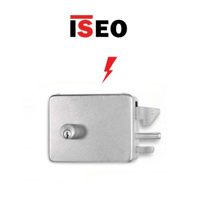 Serratura elettrica a gancio Iseo 380 EGR entrata 90 Destra art. 3809001
