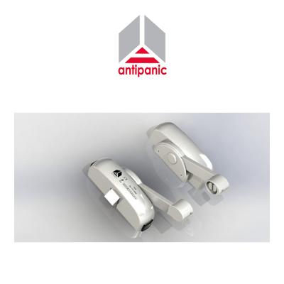 Maniglione antipanico triplice Antipanic tre punti di chiusura Bianco RAL 9016 art. 403/TB