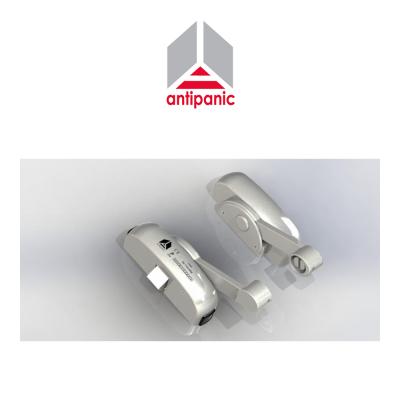 Maniglione antipanico triplice Antipanic tre punti di chiusura Grigio RAL 9006 art. 403/TG6
