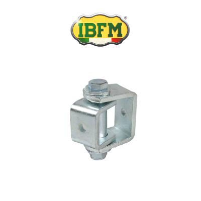 Cardine regolabile per cancelli a battente con snodo piccolo Ibfm art. 423/P