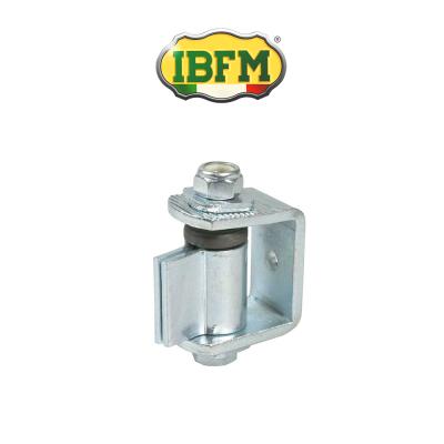 Cardine regolabile per cancelli a battente con snodo e cuscinetto Ibfm art. 424