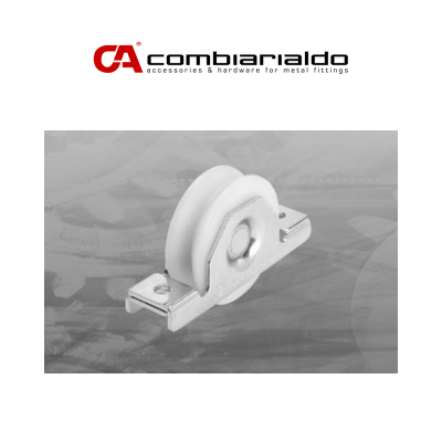 425NYIX Combi Arialdo ruota gola tonda 1 cuscinetto supporto interno per cancelli scorrevoli