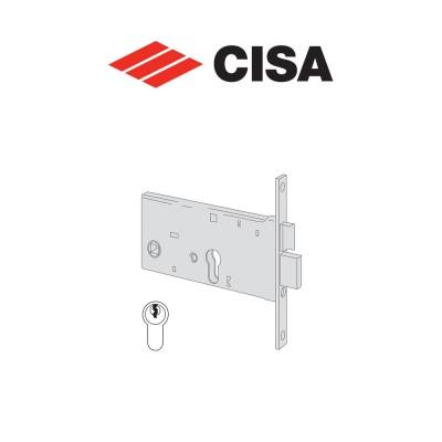 Serratura meccanica a cilindro Cisa entrata 90 art. 4436190