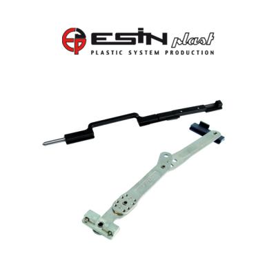 Fermo imposta a scomparsa Esinplast Cobra piste decentrate 180° Sinistro art. 099994542201