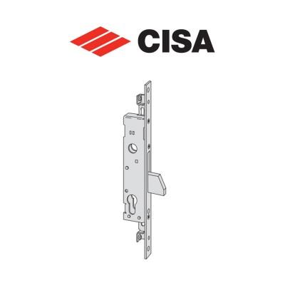 Serratura meccanica a catenaccio basculante Cisa entrata 25 art. 4622025