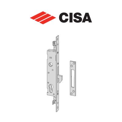 Serratura meccanica a catenaccio basculante Cisa entrata 25 art. 4626025