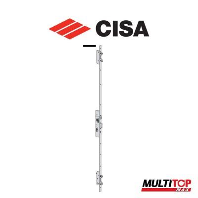 Serratura meccanica multipunto Cisa Multitop Max entrata 35 frontale piatto art. 4974635