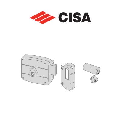 Serratura meccanica a cilindro Cisa entrata 60 Destra art. 50141601