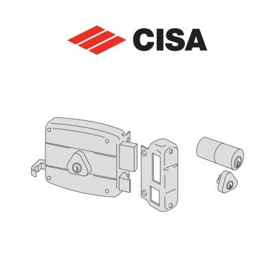 Serratura meccanica a cilindro Cisa entrata 70 Destra art. 50421701