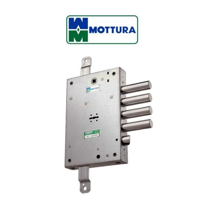 Serratura di sicurezza Mottura interasse 28 mm con chiavistelli prolungati art. 52.571