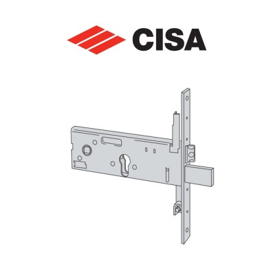Serratura meccanica a cilindro Cisa entrata 90 art. 5635790