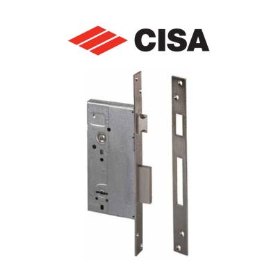 57211 Cisa - Serratura da infilare a doppia mappa per porte in legno