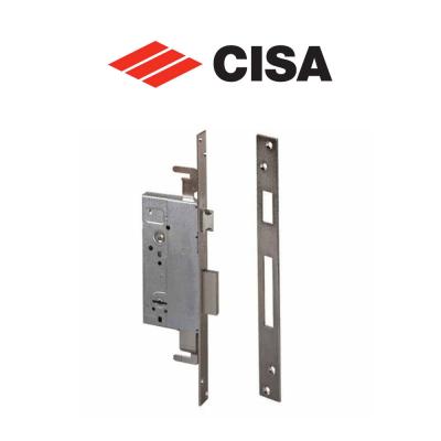 57215 Cisa - Serratura da infilare a doppia mappa per porte in legno