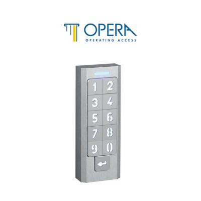 Tastiera a codice per controllo accessi Opera serie Keypad art. 57313