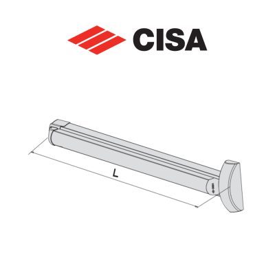 Maniglione per serrature antipanico Cisa Fast Touch art. 5971110