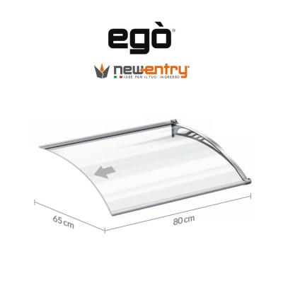 Pensilina Egò modulo aggiuntivo lunghezza 80 cm sporgenza 65 cm art. EG06500801F