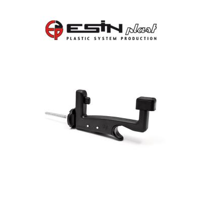Fermo imposta automatico con ammortizzatore Esinplast Super Midi Grillo vite 120 mm art. 099993011001