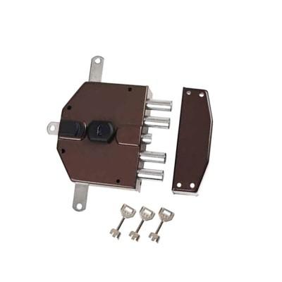 Serratura elettrica con chiave a pompa Yale Destra art. 8230