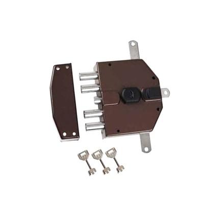 Serratura elettrica con chiave a pompa Nuova Feb Sinistra art. 8230