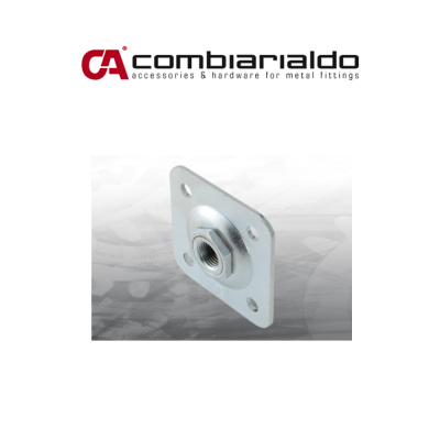 Piastra regolabile grande per cardini Combi Arialdo M 27 art. 860G.27/120