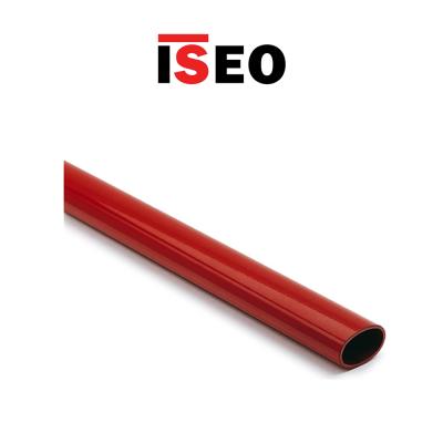 Barra ovale orizzontale per maniglioni antipanico Iseo 1130 mm Rossa art. 945928