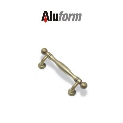 A 370 Aluform maniglione ottone classico per porte