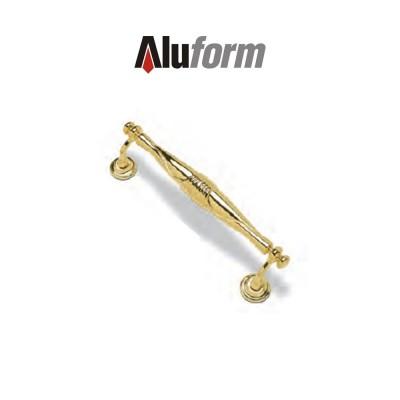 A 409 Aluform maniglione ottone oro PVD per porte