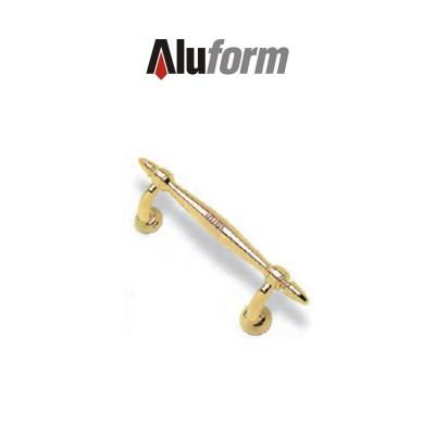 A 414 Aluform maniglione ottone oro PVD per porte