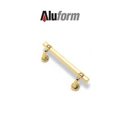 A 415 Aluform maniglione ottone oro PVD per porte